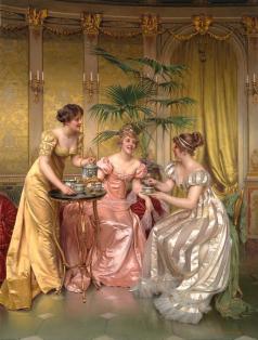 English afternoon tea tradition