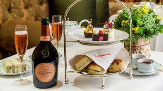 Champagne Afternoon Tea at The Dorchester