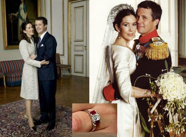 crown princess and prince of denmark