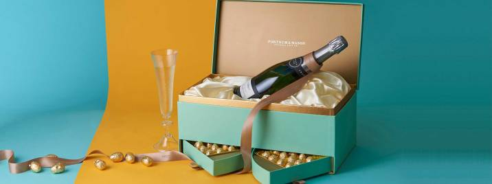 The Champagne and Eggs Box