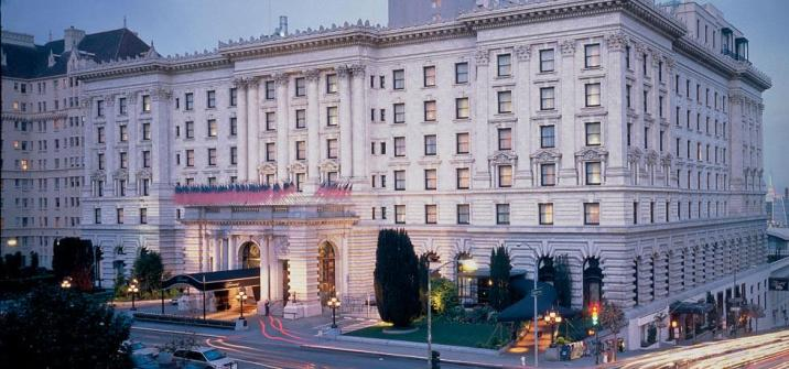 Image Courtesy The Fairmont San Francisco