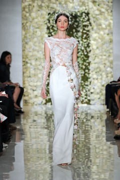 Designer: Reem Acra New York Bridal Fashion Week FW15, October 2014