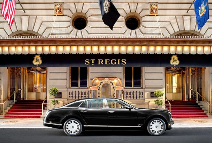 Image Courtesy St Regis New York