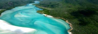 Whitehaven Beach, Australia Image Courtesy Qualia Great Barrier Reef