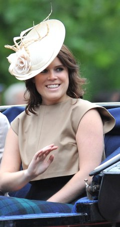 Princess Eugenie of York at Trooping The Colour