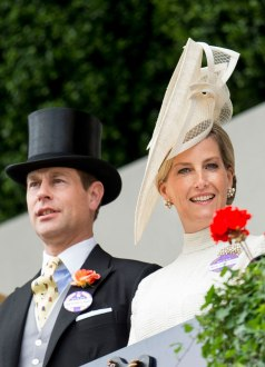 Earl of Wessex and Countess of Wessex at Royal Ascot 2015