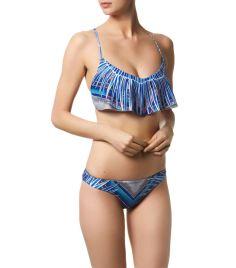 Mara Hoffman Rising Palm Cropped Bikini