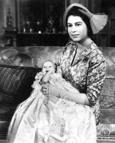 Queen Elizabeth II with Princess Anne