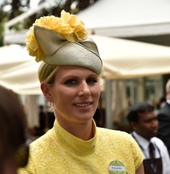 Zara Phillips Tindall at Royal Ascot 2015