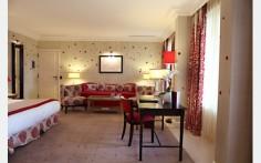 Terrace Suite at Hostellerie de Plaisance
