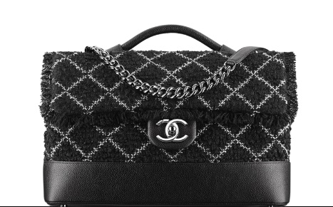 Chanel Flap Bag Tweed