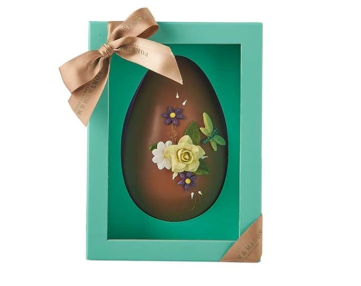 Hand Decorated Milk Chocolate Egg