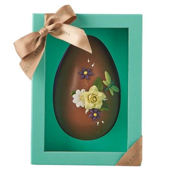 Hand Decorated Milk Chocolate Egg