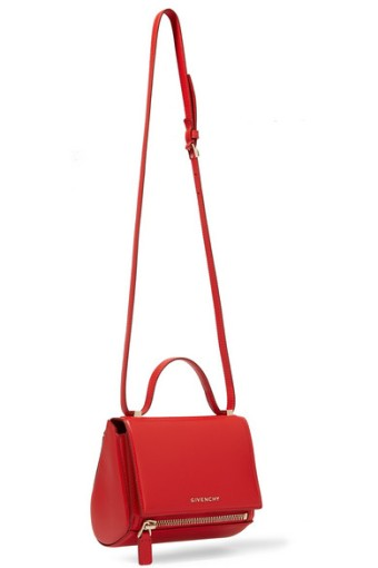 Givenchy Pandora's Box Red Leather