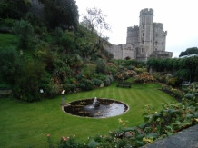 Windsor Castle's moat now a beautiful garden