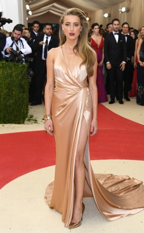 Amber Heard in Ralph Lauren collection