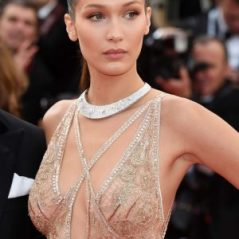 Bella Hadid in Cavalli Couture