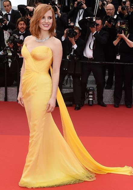 Jessica Chastain brings some much needed sunshine