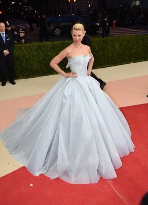 Claire Danes in Zac Posen Illuminating Gown
