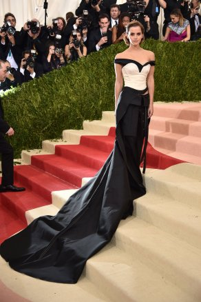 Emma Watson in Calvin Klein Collection