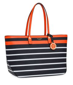 Henri Bendel West 57th Stripe E/W Tote