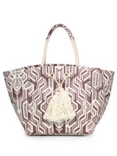 Melissa Odabash Printed Cotton Tote