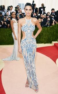 Kendall Jenner in Atelier Versace