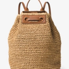 Michael Kors Krissy Large Straw Bag