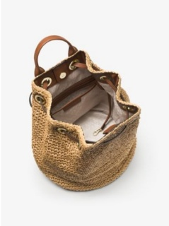 Michael Kors Krissy Large Straw Bag