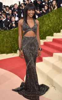 Naomi Campbell in Cavalli Couture
