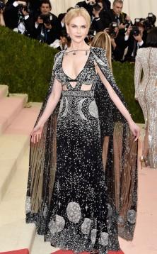 Nicole Kidman in Alexander McQueen gown