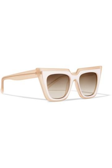 Self Portrait + Le Specs Luxe cat-eye matte-acetate sunglasses