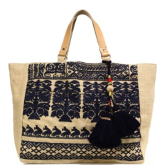 Star Mela Savana Embroidered Tote