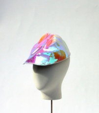 Keely Hunter - Iridescent Formed Cap