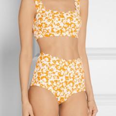 NP - MARYSIA Palm Springs printed scalloped bikini