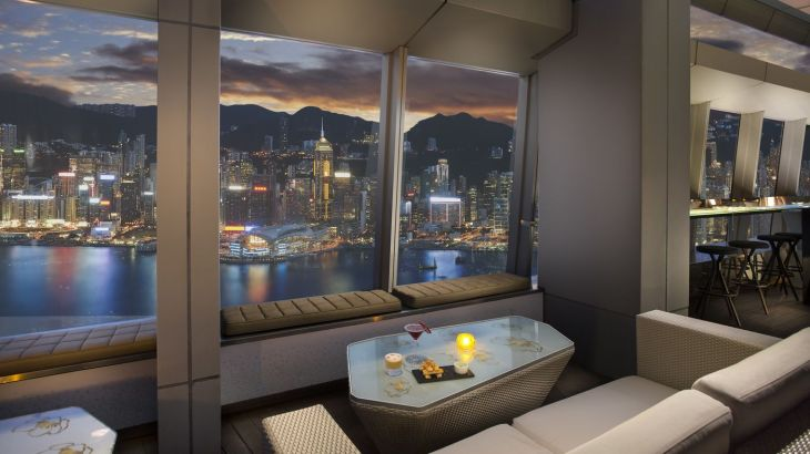 Image Courtesy : Ozone The Ritz - Carlton Hong Kong