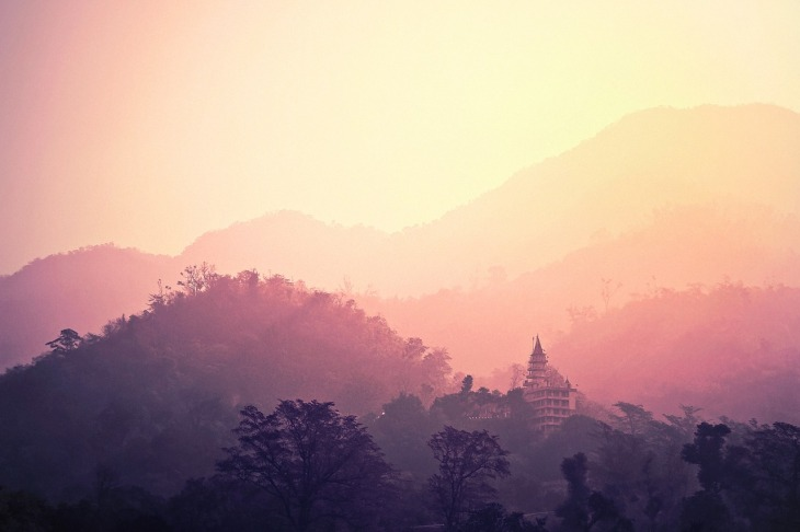 Rishikesh, India - Pilgrim and World Yoga Capital