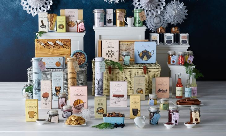 Harrods Cartwright and Butler Christmas Hamper