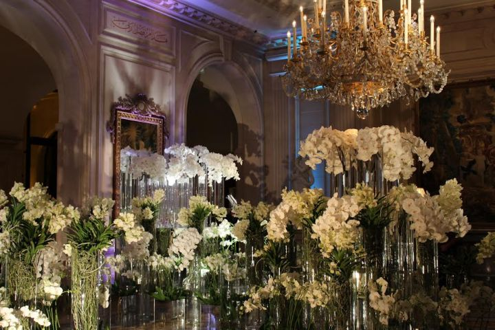 Floral Arrangement at Four Seasons George V Paris