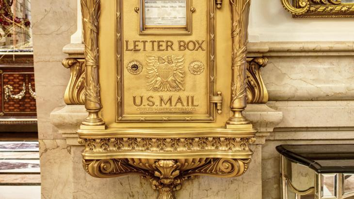 Mail Chute at The St Regis New York