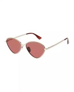 Le Specs Luxe Bazaar Laser-Cut Geometric Sunglasses. Shop at neimanmarcus.com
