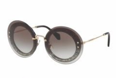 MIU MIU Tinted Round Sunglasses. Shop at saksfifthavenue.com