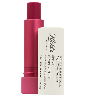 Kiehl's Butterstick Lip Treatment SPF 25 Simply Rose