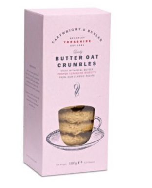 Cartwright & Butler __ Butter Oat Crumbles