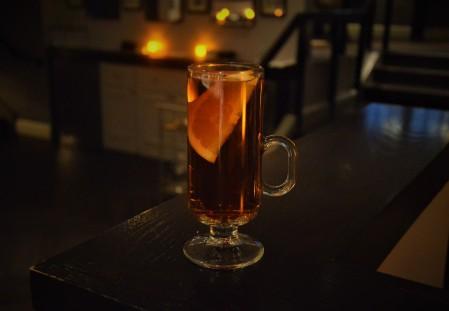 Autumn Toddy - Winter Cocktail