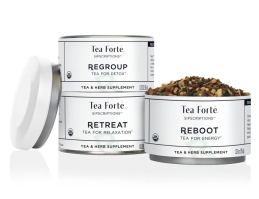 Tea Forte Loose Leaf Tea Sipscriptions Trio