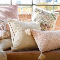Embellished Pillows for Spring by Pier 1 Imports