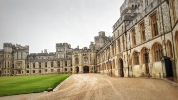 Courtyard at Windsor Castle's Upper Ward