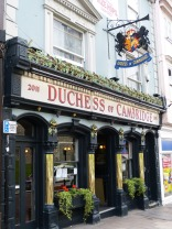 The Duchess of Cambridge Pub opposite Windsor Castle