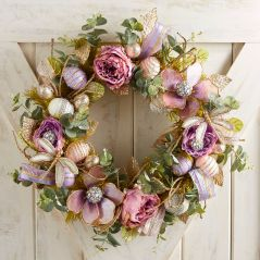 Capiz Shimmer Spring Wreath by Pier 1 Imports